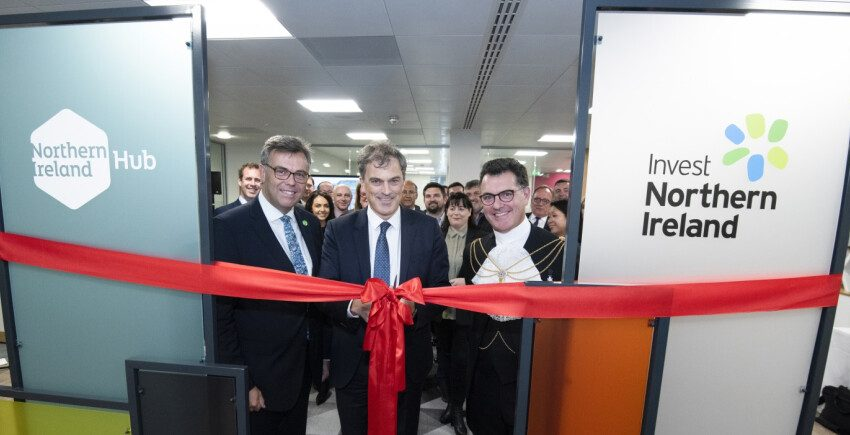 Invest Northern Ireland launches new London hub in financial district