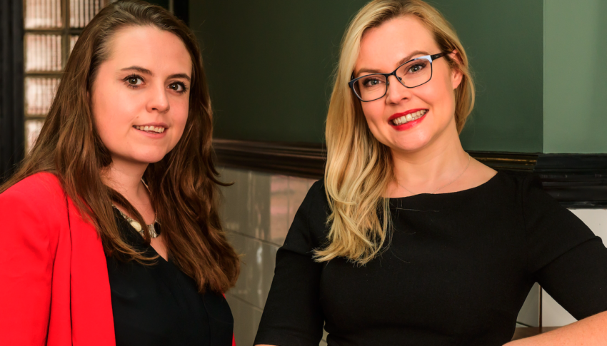 Two Belfast-based female founders disrupting charitable giving through Fintech